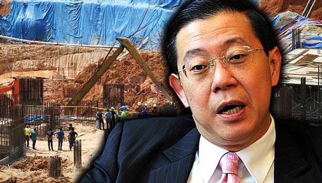 Tanah runtuh: Projek rumah milik Tanjung Bungah dihenti sementara