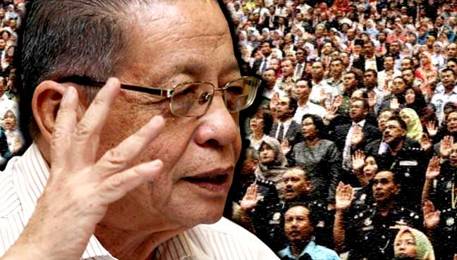 Kit Siang to civil service heads: Don't bow to pressure from Najib