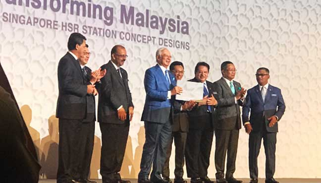 Singapore HSR land acquisition process under way, says Najib