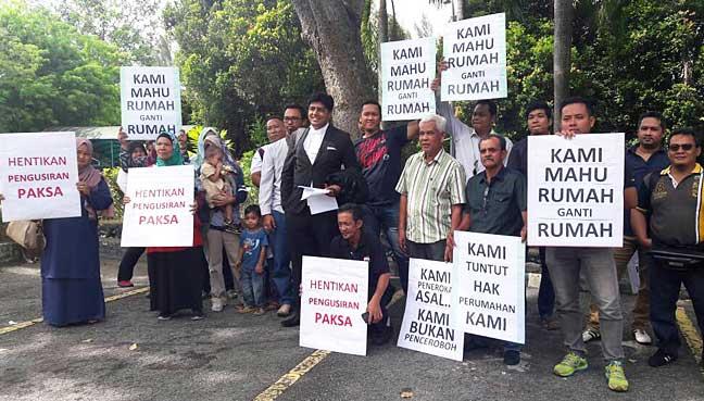 Mahkamah arah pemaju senarai 135 penduduk Padang Jawa setuju pindah