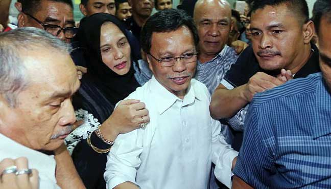 Shafie Apdal remanded for 4 days