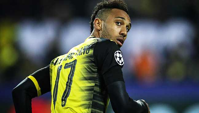 Pierre-Emerick Aubameyang suspended by Borussia Dortmund for 'disciplinary reasons'