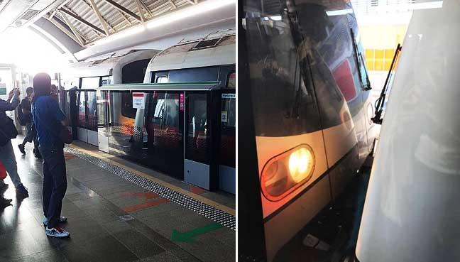 MRT-Singapore,-collided