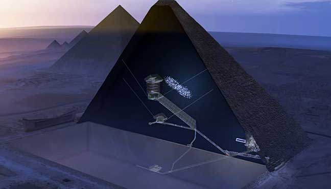 Scientists: Plane-sized 'void' discovered in Great Pyramid