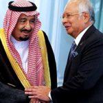 Raja Arab Saudi, Raja Salman Abdul Aziz bersama Datuk Seri Najib Razak ketika melawat Malaysia Februari lalu.