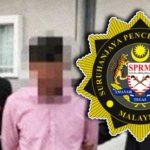 SPRM-tahan-timbalan-pengarah-Jabatan-Keselamatan-Pekerjaan-Johor