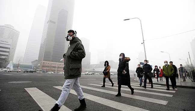 No joke china government warns northern cities to get serious in beijing some northern chinese cities failed to improve air quality by much last month hitting the smog prone regions overall results in a drive against publicscrutiny Gallery