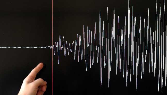 Twin quakes, about 5.4 magnitude, hit off S. Korea's southeastern coast