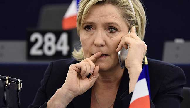France's Marine Le Pen stripped of parliamentary immunity over tweets