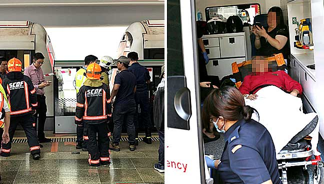 SMRT train hits stationary train at Joo Koon MRT station; 25 injured