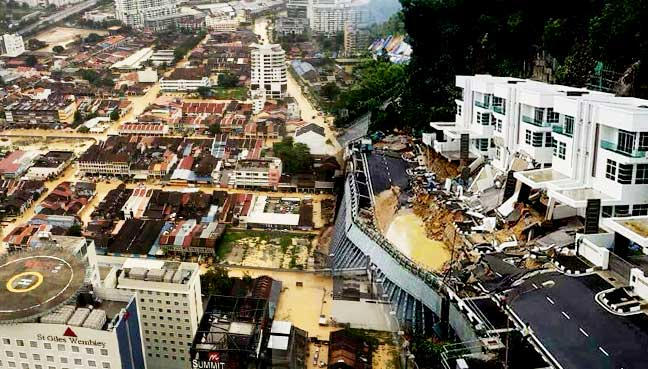 Malaysians Must Know The TRUTH: Storm-hit Penang Reels