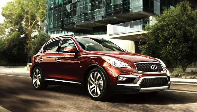 New Infiniti QX50 unveiled