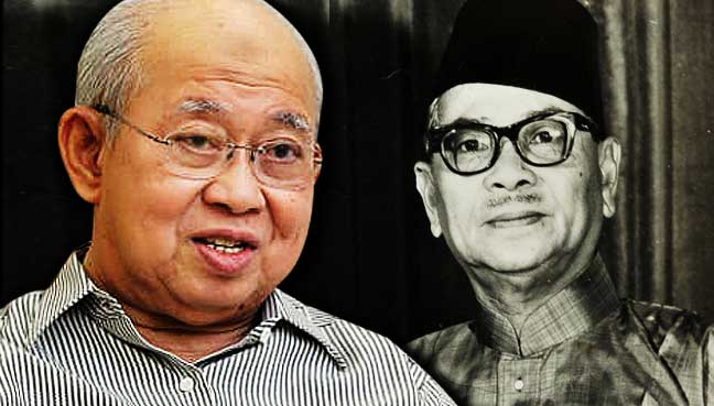choosing a great leader ungku abdul Tan sri tunku shahriman tunku sulaiman says as firm as he was in office, tun abdul razak hussein was also a kind-hearted and friendly person (pic by saifullizan tamadi from nst).
