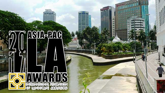 International accolade for kl s river of life free for International federation of landscape architects