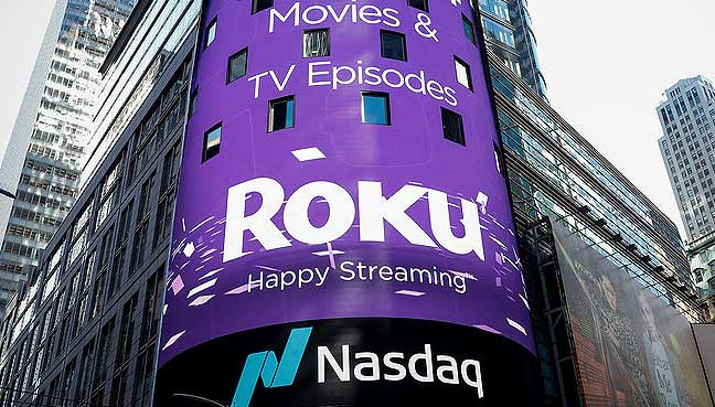 Roku Hits Record High On Licensing Deal For Philips Branded Tvs