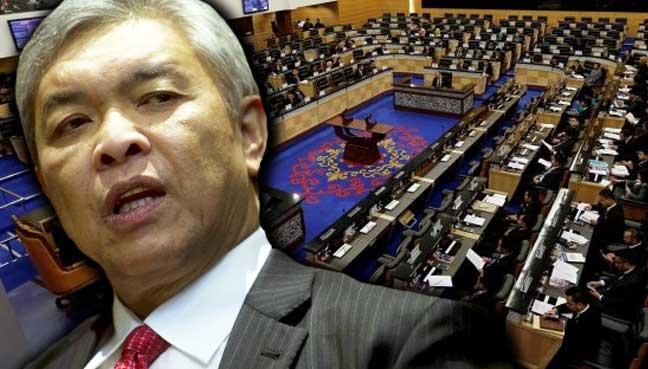 zahid-parlimen