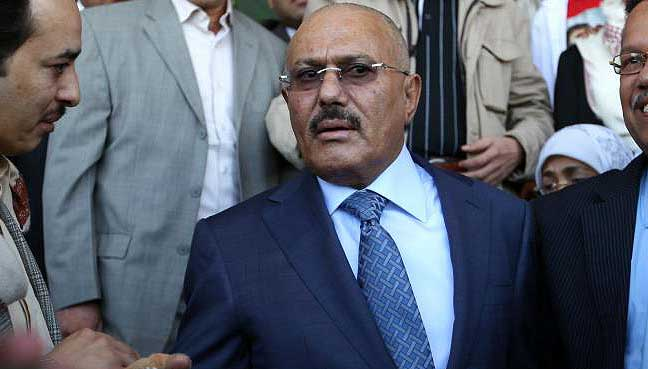 Former Yemeni President Saleh Offers Talks To Saudi-Led Coalition