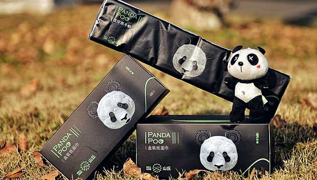 Chinese-firm-turns-panda-waste-into-toilet-paper