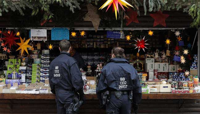 Suspicious package in Germany had nails, power