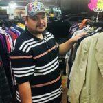 Pemilik kedai baju terpakai, Mohd Nor Mazlan kini mampu menjual kira-kira 4 tan pakaian sebulan.