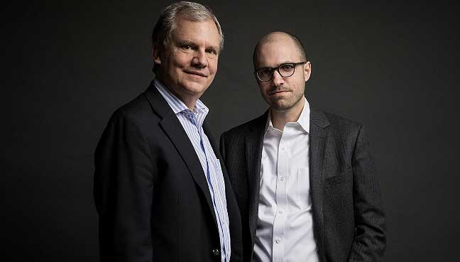 New York Times Publisher Sulzberger Turns Over Reins To His Son