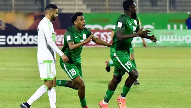 Nigeria fined by Federation Internationale de Football Association  for fielding ineligible Player in Algeria Clash