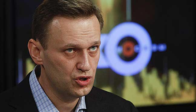 Russian court upholds ban on Navalny running against Putin in 2018