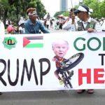 Thousands protest in Jakarta against Trump's Jerusalem move