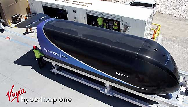 Virgin Hyperloop One hits new top speed