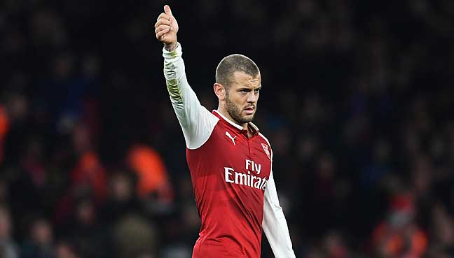 Arsenal fans loved the brilliant thing Jack Wilshere did after Liverpool draw