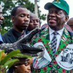 Zimbabwe's-Mnangagwa-party