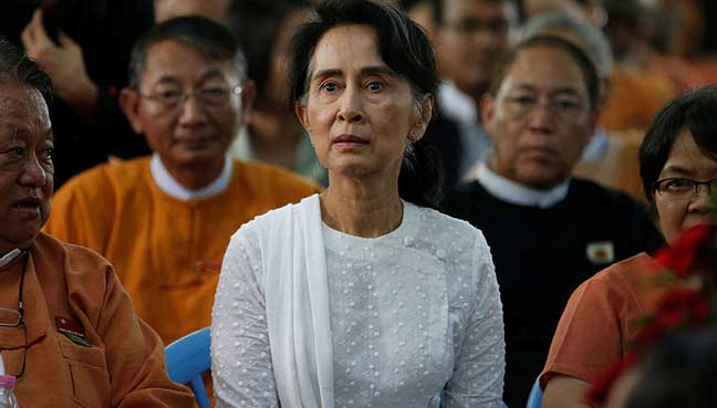 Council Strips Aung San Suu Kyi's Freedom Of Dublin