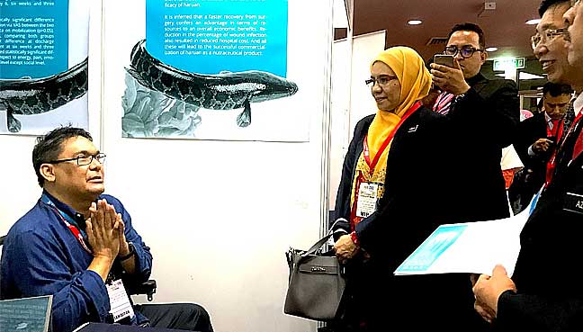 Dr Ahmad Farouk Musa at the Selangor Research Week last August