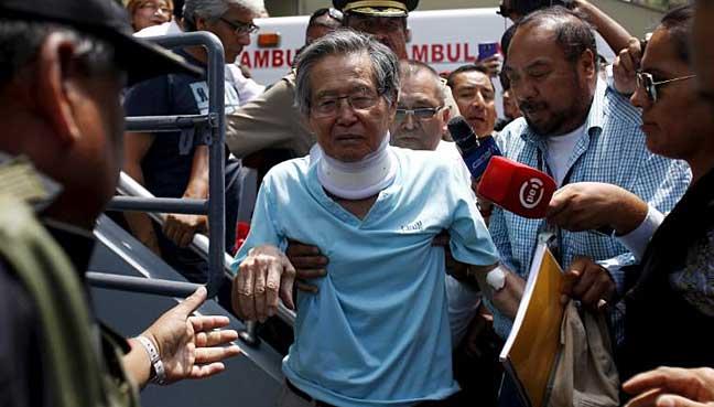 Peru's Fujimori taken to hospital from jail, life at…