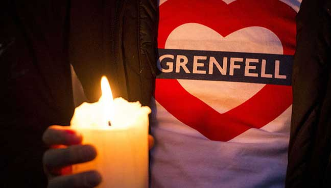 Grenfell six months on: Memorial service for victims held