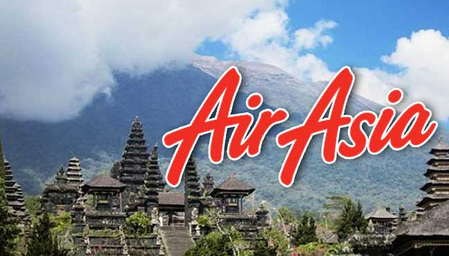 AirAsia operates limited flights to Bali