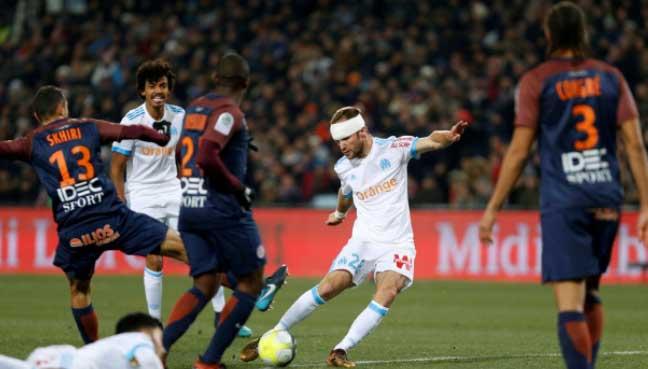 Lyon go second as Marseille wobble