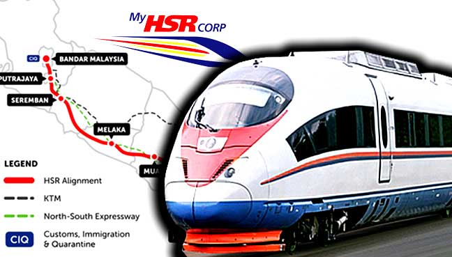 Chinese consortium confident of winning KL-S'pore HSR project