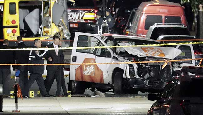 NY blast suspect's family heartbroken, saddened by attack