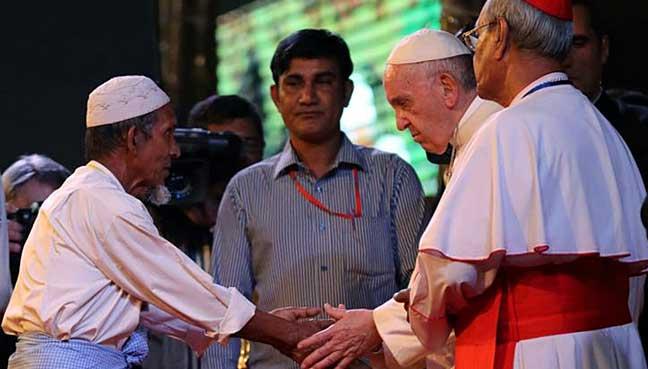 pope-rohingya