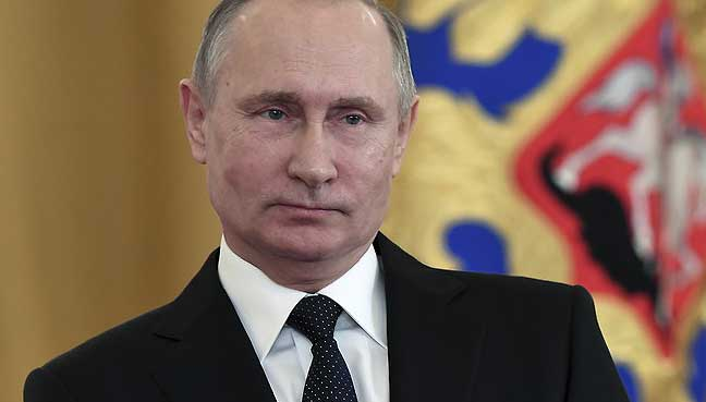 Putin calls for 'pragmatic cooperation' in New Year wishes to Trump