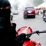 saudiwomanonbike