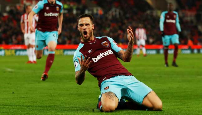 West Ham United Premier League - 16 December 2017