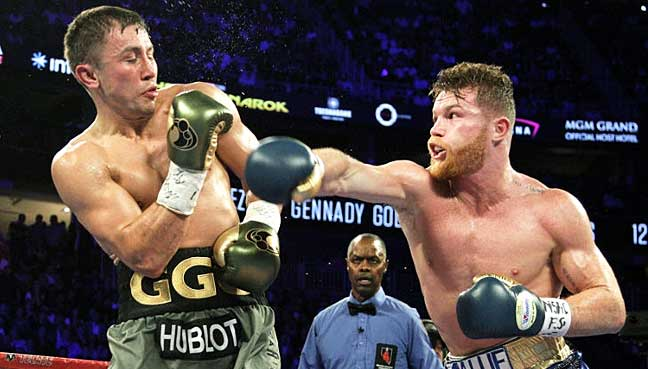 Alvarez and Golovkin's first bout was in September 2017.