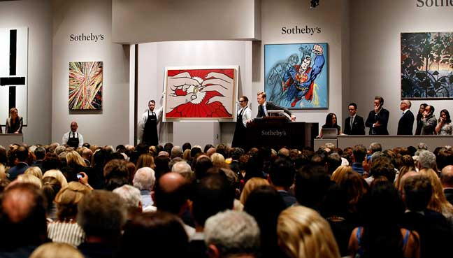 Sotheby's displays surrealist Magritte and rare works by ...