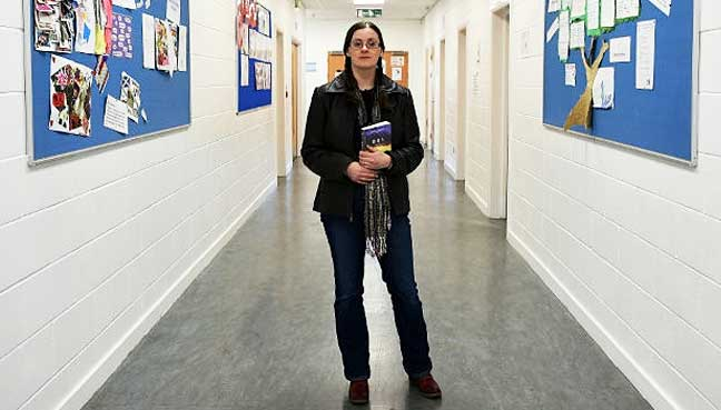"Scottish schoolteacher Claire McFall has become an international literary sensation with her ""Ferryman"" series of teenage novels."