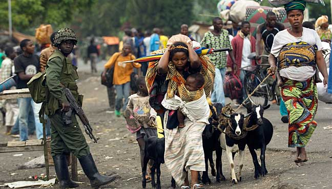 The Democratic Republic of the Congo has been ravaged by various conflicts.