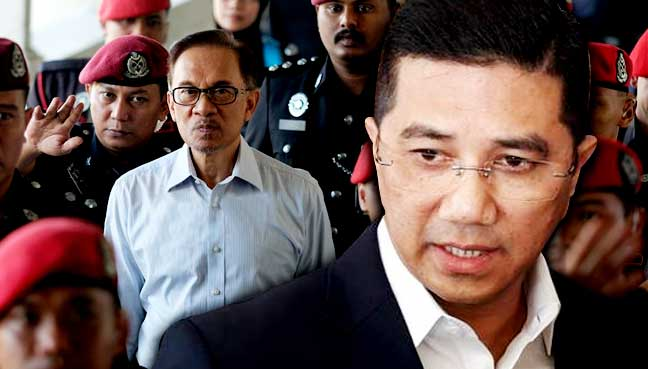 Image result for images of azmin and anwar
