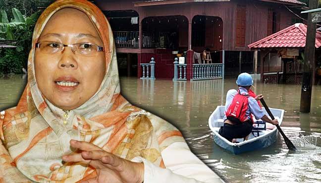 fuziah-lynas-banjir