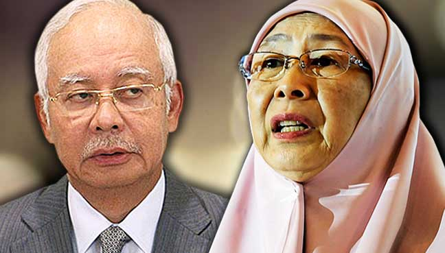 Wan Azizah serang PAS selepas pujian Najib